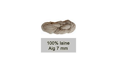 LAINE NATURELLE DI LUCE 7 MM