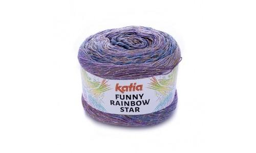 KATIA FUNNY RAINBOW STAR Luce laine tricot