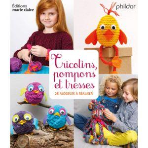 Livre tricot n°841 Tricotins, pompons