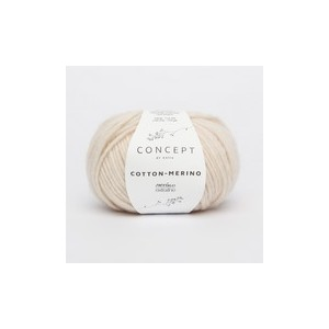 KATIA Cotton Merino 101 Beige Clair