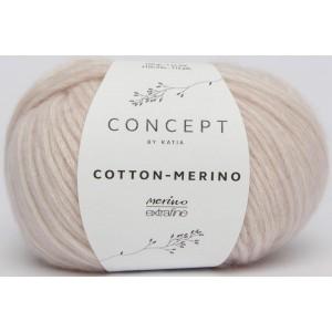 KATIA Cotton Merino 103 Rose très clair