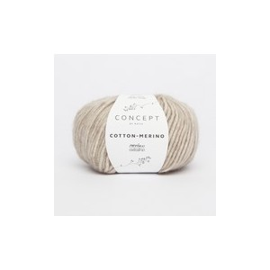 KATIA Cotton Merino 104 Beige