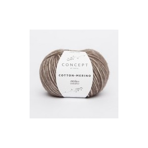 KATIA Cotton Merino 105 Marron
