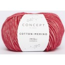 KATIA Cotton Merino 109 Rouge
