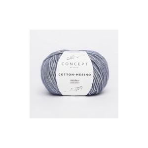 KATIA Cotton Merino 115 Bleu