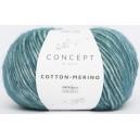 KATIA Cotton Merino 126 Bleu Vert