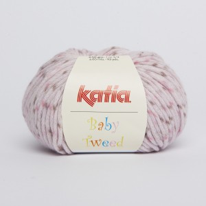 KATIA BABY TWEED 204 Rosé Marron