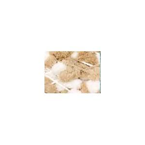 POMPON PRINT 30 Ecru Blanc