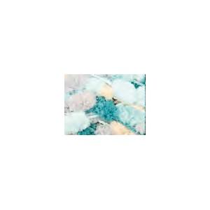 POMPON PRINT 28 Turquoise Mix