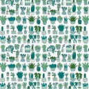 TOILE JERSEY MENTHE RICO DESIGN