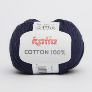 KATIA COTTON 100% - 05 Bleu très foncé