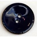 Bouton coco émaillé 37 mm Beige