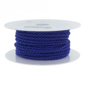 Cordon polyester Ø 3,5mm royal