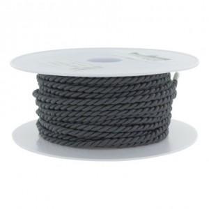 Cordon polyester Ø 3,5mm orage
