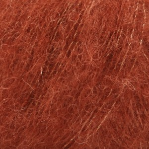 Brushed Alpaca silk 24 rouille