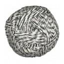 ALPAGA FINE di LUCE - Noir et blanc 1100