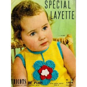 PDF Tricots de Paris Layette  n°60