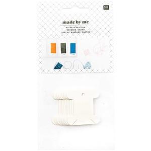 Cartes bobines carton irisées petites