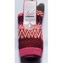 Mi chaussettes Viscose/Angora Pois sans couture