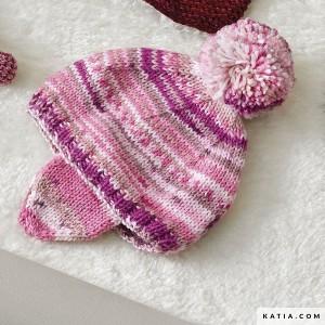 kit bonnet cache oreilles 3-6 mois