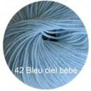 Régina Bleu ciel bébé 42