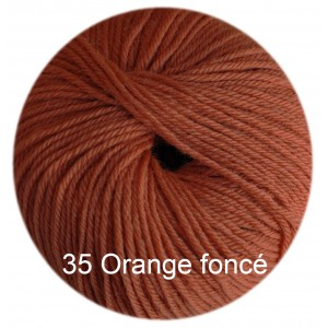 Régina Orange foncé 35