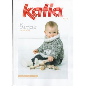 PDF KATIA n°82 - 50 Créations pour bébé