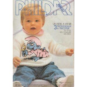 PDF PHILDAR Mailles Bébé n° 114