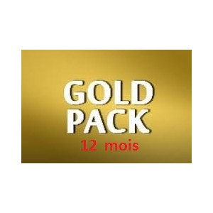 Pack GOLD (un an)