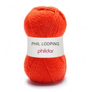 PHILDAR LOOPING FEU 0005 par 5
