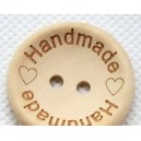 Boutons HandMade en coco 30 mm