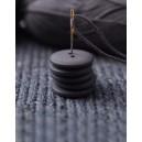 Bouton rond coloré 15 mm 02 Minerai