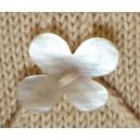 Bouton de nacre fleur
