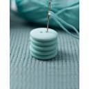 Bouton rond coloré 15 mm 26 Jade