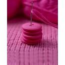 Bouton rond coloré 15 mm 32 Oeillet