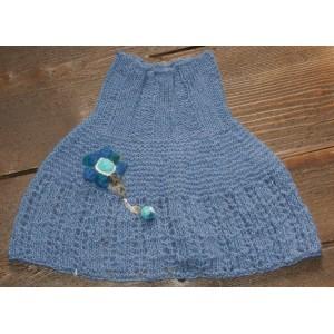Cache-épaule bleu jean