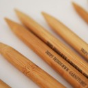 Taille 3,5 Aiguilles bambou doubles pointes