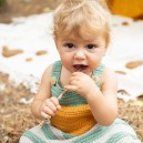 Kit Crochet Barboteuse Baby Boho