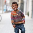 Kit Tricot Pull Old School 2-4 ans