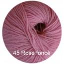 Régina Rose foncé 45