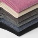 Mi Chaussettes Unies Angora Sans Couture